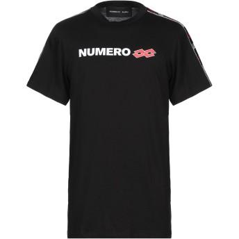 《セール開催中》NUMERO 00 メンズ T シャツ ブラック S コットン 100%