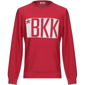 《期間限定セール開催中!》BIKKEMBERGS メンズ プルオーバー レンガ S コットン 90% / アセテート 10%