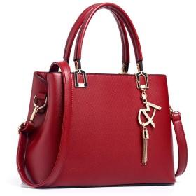 女性のハンドバッグ、牛革バッグ、シンプルな気質の女性のショルダーバッグショルダーバッグ
