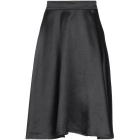 《セール開催中》MANGANO レディース 7分丈スカート ブラック S ポリエステル 100%