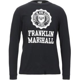 《期間限定セール開催中!》FRANKLIN & MARSHALL メンズ T シャツ ブラック XXS コットン 100%