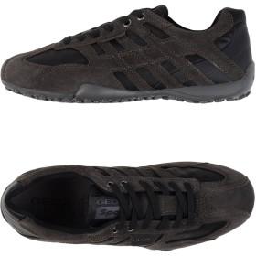 《期間限定セール開催中!》GEOX メンズ スニーカー&テニスシューズ(ローカット) 鉛色 40 紡績繊維 革