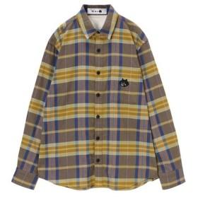 [マルイ]【セール】にゃーチェックシャツ/にゃー(nya)