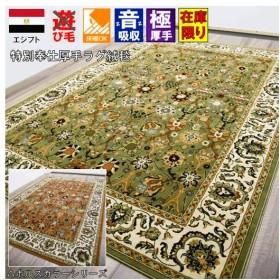 ラグ カーペット 3畳 ラグマット 絨毯 じゅうたん 厚手 HORUS COLOR ジェドホル Djedhor  約3畳 200x250cm