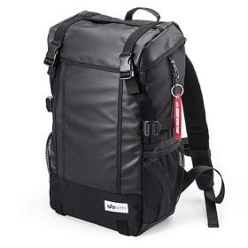 バックパックコンピュータバッグ通学スポーツバッグ防水登山バッグ,黒,20インチ