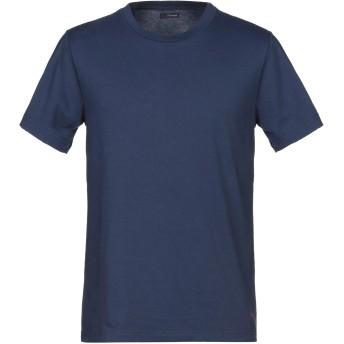 《セール開催中》(+) PEOPLE メンズ T シャツ ブルー M コットン 100%
