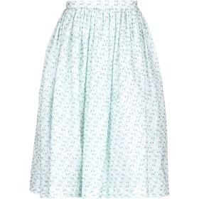 《セール開催中》MARCO BOLOGNA レディース 7分丈スカート ホワイト 40 コットン 59% / ポリエステル 33% / 金属繊維 4% / ナイロン 4%