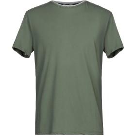 《セール開催中》DANIELE FIESOLI メンズ T シャツ ミリタリーグリーン XXL コットン 89% / ポリウレタン 11%