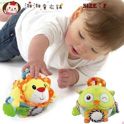 【G0535】兒童益智玩具 嬰兒玩具 寶寶搖鈴手抓球 毛絨布藝安撫玩偶 鈴鐺球按摩球 寶寶玩具