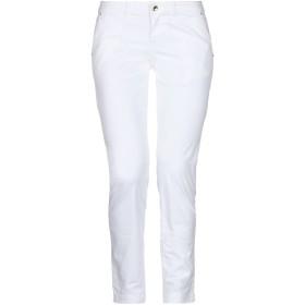 《セール開催中》EAN 13 レディース パンツ ホワイト 38 コットン 97% / ポリウレタン 3%