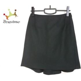 ダイアグラム Diagram GRACE CONTINENTAL スカート サイズ36 S レディース 美品 黒 新着 20190926
