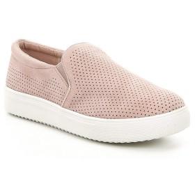 [ブロンド] レディース スニーカー Gallert Perforated Suede Slip On Sneaker [並行輸入品]