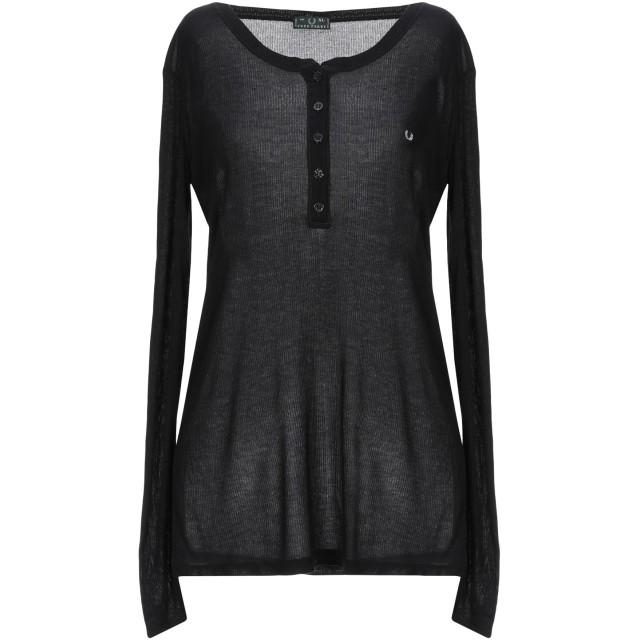 《セール開催中》FRED PERRY レディース T シャツ ブラック XL レーヨン 100%