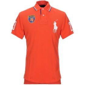 《セール開催中》POLO RALPH LAUREN メンズ ポロシャツ オレンジ M コットン 100% / ポリエステル