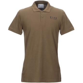 《セール開催中》JOHN RICHMOND メンズ ポロシャツ ミリタリーグリーン S コットン 100%
