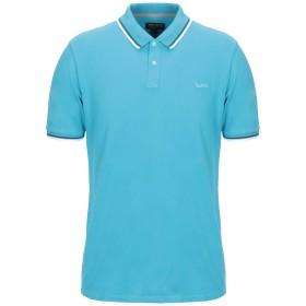 《期間限定セール開催中!》WOOLRICH メンズ ポロシャツ アジュールブルー S コットン 95% / ポリウレタン 5%