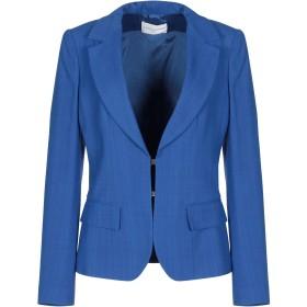 《期間限定セール開催中!》MARIA GRAZIA SEVERI レディース テーラードジャケット ブライトブルー 40 レーヨン 99% / ポリウレタン 1%
