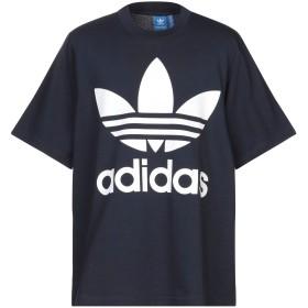 《セール開催中》ADIDAS ORIGINALS メンズ T シャツ ダークブルー S コットン 100%