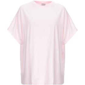《期間限定セール開催中!》DOUUOD レディース T シャツ ピンク S コットン 100%