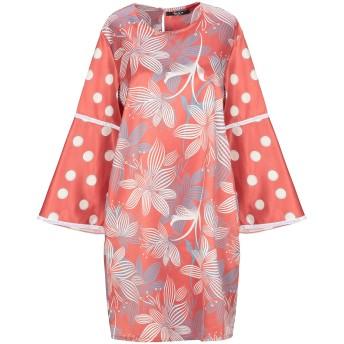 《セール開催中》SISTE' S レディース ミニワンピース&ドレス 赤茶色 XS ポリエステル 97% / ポリウレタン 3%
