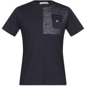《セール開催中》HAMAKI-HO メンズ T シャツ ダークブルー M コットン 100%