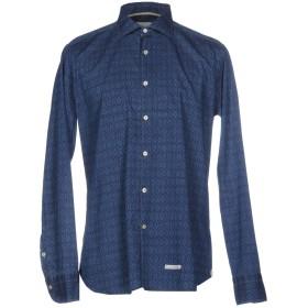 《期間限定セール開催中!》TINTORIA MATTEI 954 メンズ シャツ ブルー 39 コットン 100%