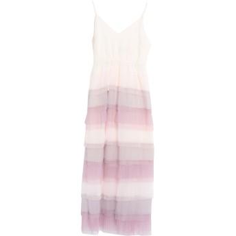 《セール開催中》VANESSA SCOTT レディース ロングワンピース&ドレス ライトピンク S ポリエステル 100%