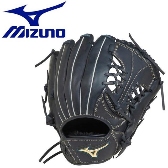 ミズノ 野球 少年軟式用 セレクトナイン×UMiX U4 内野×外野 :サイズL グラブ 1AJGY2154029