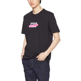 (ディーゼル) DIESEL メンズ Tシャツ ボックスロゴTシャツ 00SU2N0PATI M ブラック 900