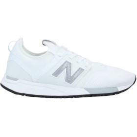 《期間限定セール開催中!》NEW BALANCE メンズ スニーカー&テニスシューズ(ローカット) ホワイト 7.5 紡績繊維