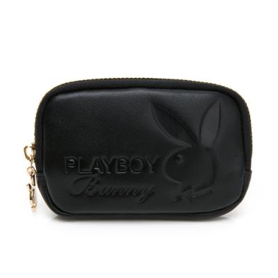 PLAYBOY-  零錢包 都會質感系列 -黑色