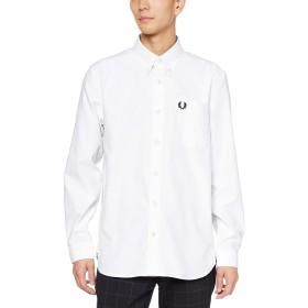 [フレッドペリー] 長袖シャツ Oxford Shirt M7550 メンズ 100_WHITE UK L (日本サイズXL相当)