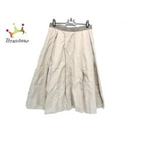 マーガレットハウエル MargaretHowell ロングスカート サイズ2 M レディース ベージュ  値下げ 20191210