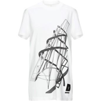 《セール開催中》DRKSHDW by RICK OWENS レディース T シャツ ホワイト XS コットン 100%