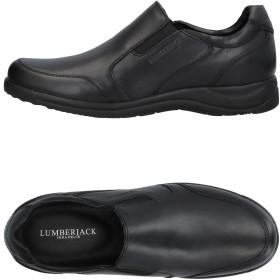 《セール開催中》LUMBERJACK メンズ スニーカー&テニスシューズ(ローカット) ブラック 41 革