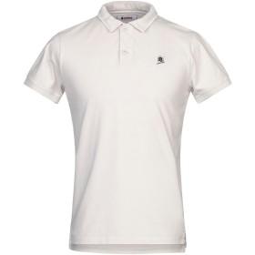 《セール開催中》INVICTA メンズ ポロシャツ ライトグレー S コットン 100%