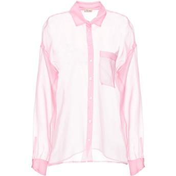 《セール開催中》HER SHIRT レディース シャツ ピンク XS シルク 100%