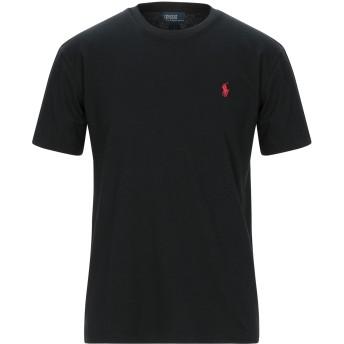 《セール開催中》POLO RALPH LAUREN メンズ T シャツ ブラック S コットン 100%