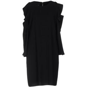 《セール開催中》PINKO レディース ミニワンピース&ドレス ブラック 42 100% ポリエステル