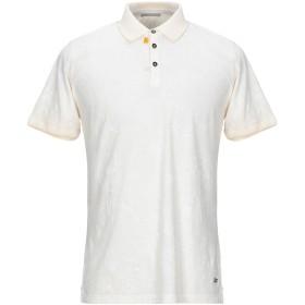 《セール開催中》SSEINSE メンズ ポロシャツ アイボリー S コットン 100%
