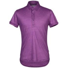 《期間限定セール開催中!》ORLEBAR BROWN メンズ ポロシャツ パープル M 麻 100%