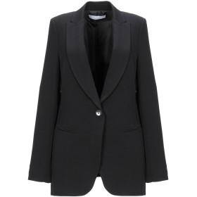 《セール開催中》KAOS レディース テーラードジャケット ブラック 40 ポリエステル 89% / ポリウレタン 11%