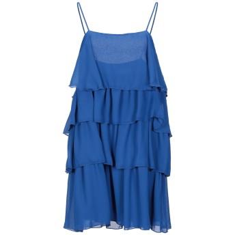 《セール開催中》VICOLO レディース ミニワンピース&ドレス ブルー S ポリエステル 100%