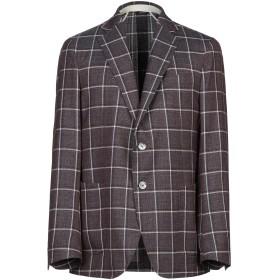 《期間限定セール開催中!》TOMBOLINI メンズ テーラードジャケット ディープパープル 52 バージンウール 100%