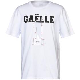《セール開催中》GALLE Paris メンズ T シャツ ホワイト S コットン 100%