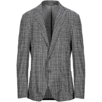 《セール開催中》ALTEA メンズ テーラードジャケット ブラック 48 コットン 100%