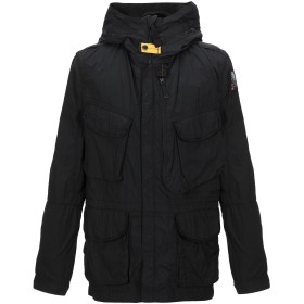 《セール開催中》PARAJUMPERS メンズ ライトコート ブラック M ナイロン 100%