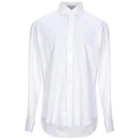 《セール開催中》BRIAN DALES メンズ シャツ ホワイト 43 コットン 100%