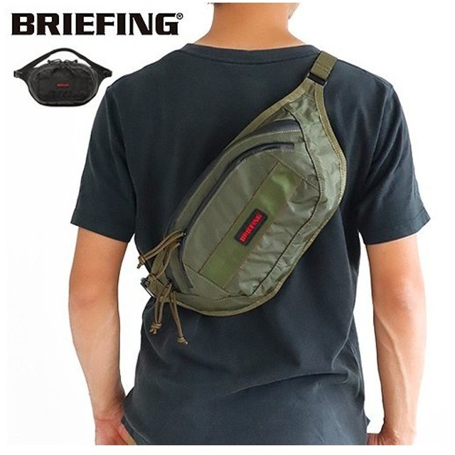 BRIEFING ALG FANNY PACK XP ブリーフィング BRM183205