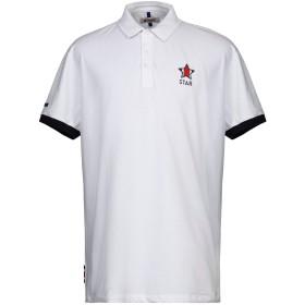 《セール開催中》INVICTA メンズ ポロシャツ ホワイト XXL コットン 92% / ポリウレタン 8%